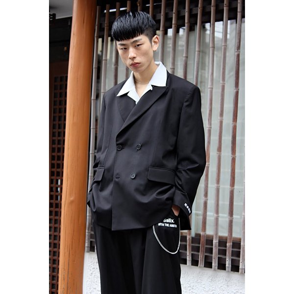 【30%OFF】THEME EMBROIDERY SET UP / BLACK