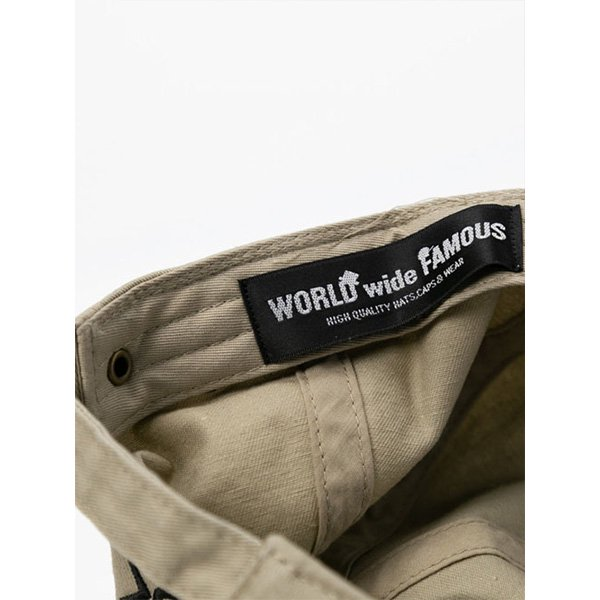 WORLD WIDE FAMOUSコラボレーションキャップ