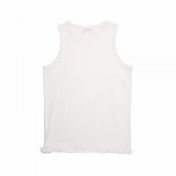 LAYERED SLEEVELESS / WHITE