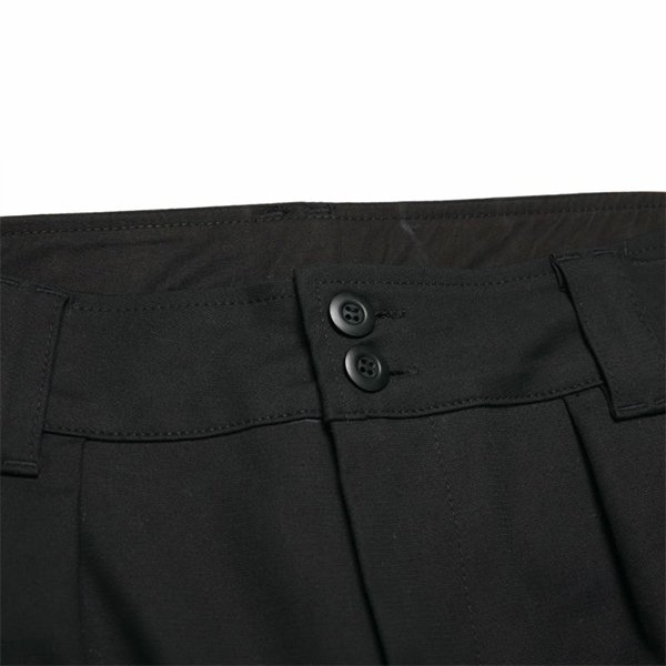 WIDE WORK PANTS / BLACK