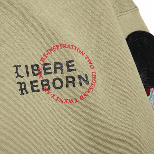 LIMITED WAPPEN SWEATSHIRTS / OLIVE