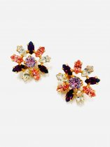 BIG FLOWER EARRINGS