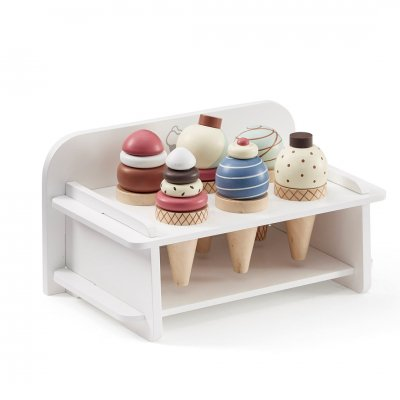 Ice Cream Bar Set With Stand