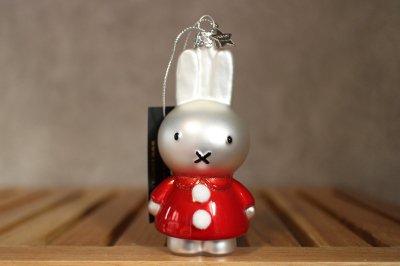 Miffi w / santa dress / Ornament glass Nijnje
