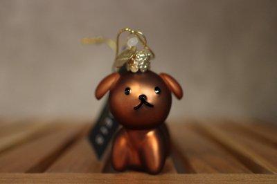 Miffi Dog Snuf / Ornament glass Nijnje
