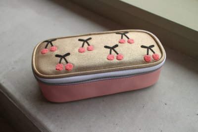 Pencil Box Cherry Pompon