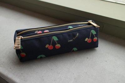 Pencil Case Double Love Cherries
