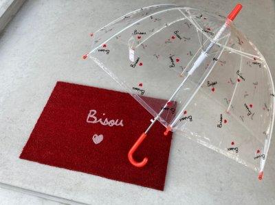 Bisou ジャンプ傘 <キッズ>