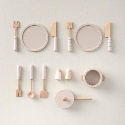 【キッチンと同時購入は20%OFF】木製キッチンセット(フレンチグレーorフレンチピンク)