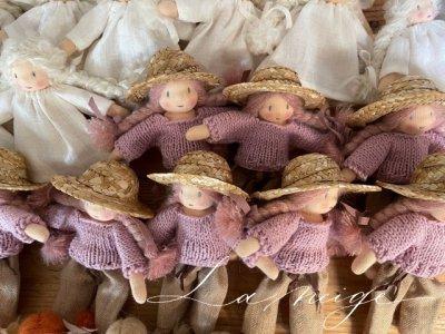 [プレオーダー]  mini doll お洋服 麦わら帽子