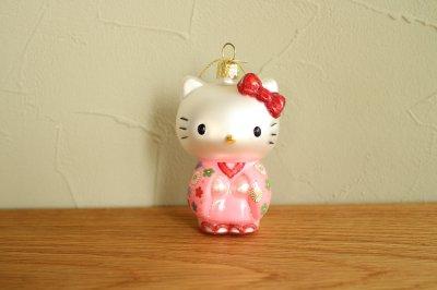Hello Kitty 着物 / ガラス オーナメント Hello Kitty