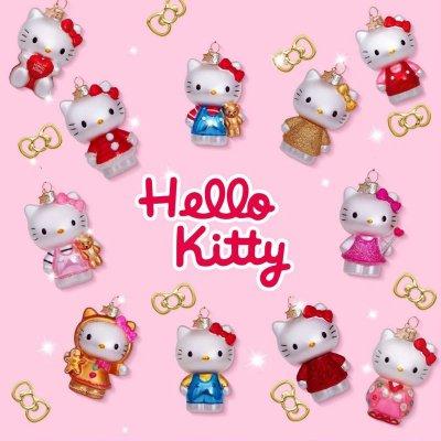Hello Kitty 11種類セット / ガラス オーナメント Hello Kitty