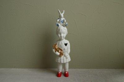 Delfts blauw konijn