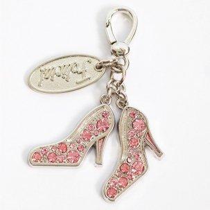 ストーンフラットヒール  light pink/silver