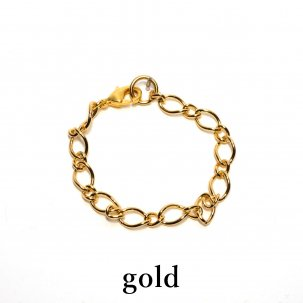 チェーン/Short gold silver
