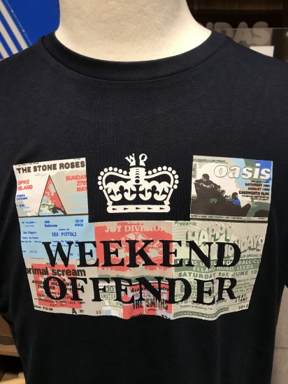 city series Weekend Offender Casuals T Shirt in White *exclusive* prison logo