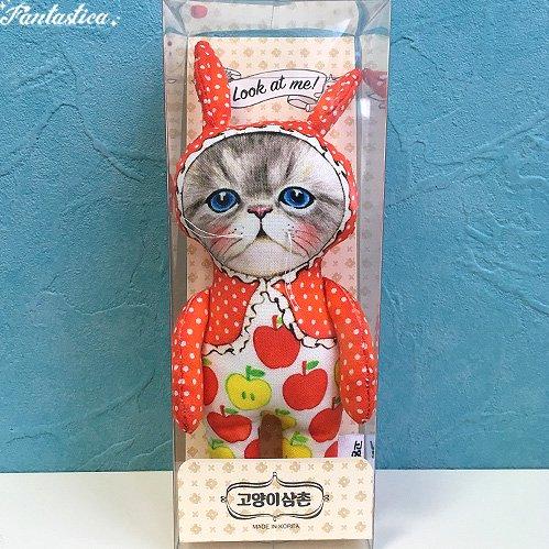 【コヤンイサムチョン・アンクルキャット】ドール ラビット RABBIT 猫のぬいぐるみ人形 Sサイズ