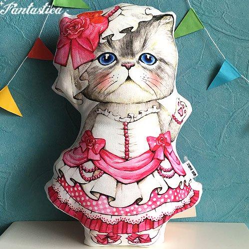 【コヤンイ サムチョン・アンクルキャット】猫のドール・クッション プリンセス・ルミ PRINCESS RUMI
