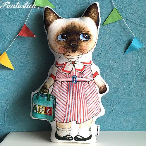 【コヤンイ サムチョン・アンクルキャット】猫のドール・クッション ソミ SOMI