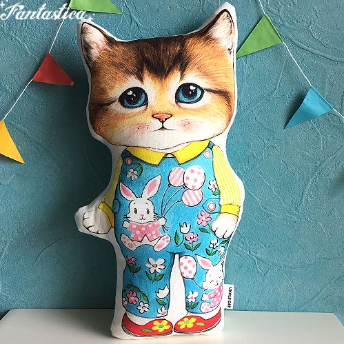 【コヤンイ サムチョン・アンクルキャット】猫のドール・クッション ボリー a week of BORY
