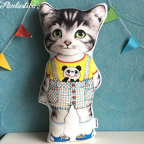 【コヤンイ サムチョン・アンクルキャット】猫のドール・クッション コール a week of KOAL