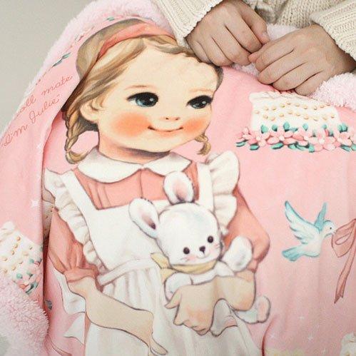 【ペーパードールメイト】ブランケット・ジュリー Paper Doll Mate Blanket 3 Julie
