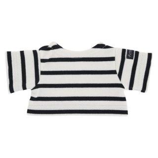 Les Petites Maries ぬいぐるみ用ボーダーシャツ(紺)