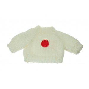 Les Petites Marie レトロコレクション ぬいぐるみ用 国旗柄セーター(日本)