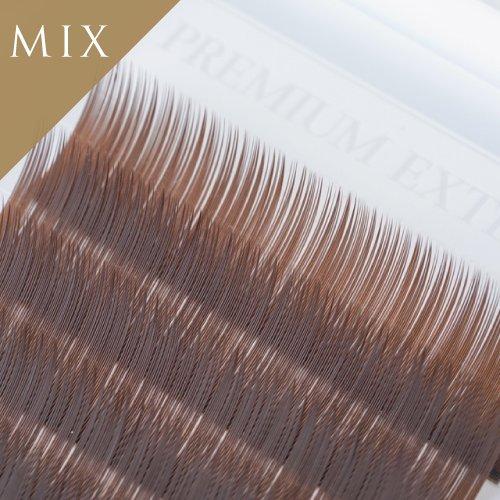 Iカール オリーブブラウン 12列  MIX 8−10mm