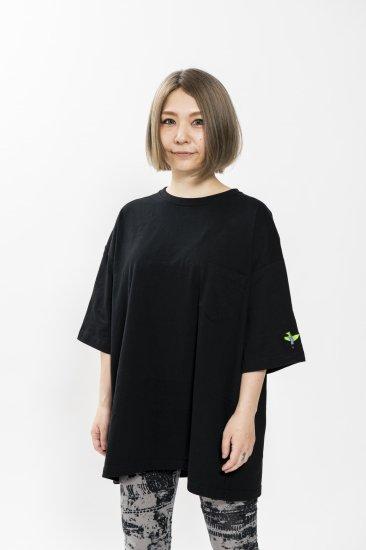 sea of green Tシャツ  L  黒