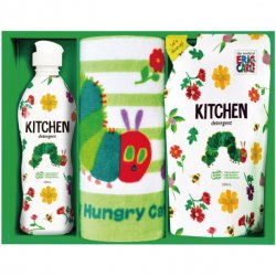 はらぺこあおむし <p>キッチン洗剤タオルセット  H-10AS</p>