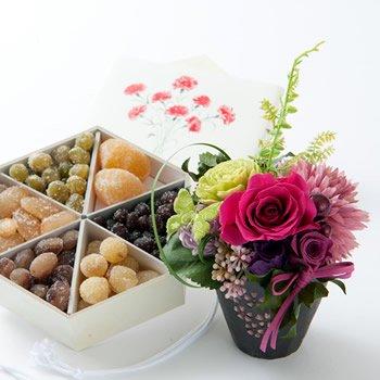 【母の日ギフト 早割 送料無料】華やぎ・『桜小町』ピンク