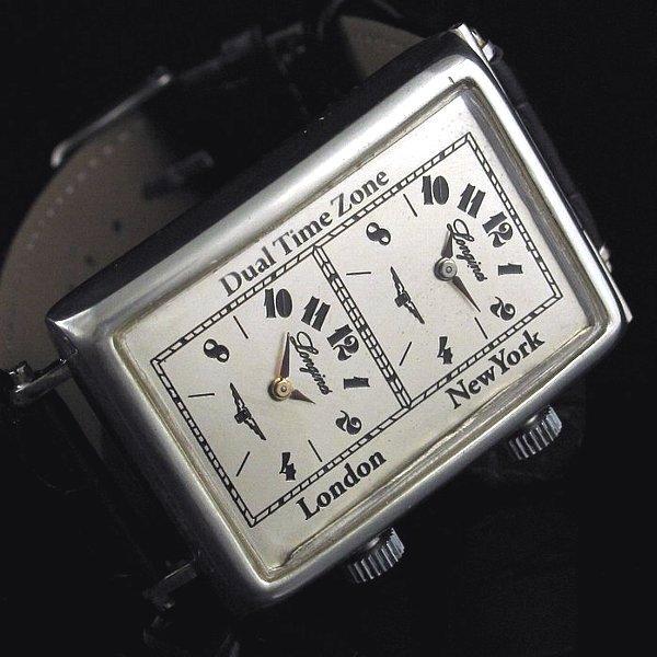 new style d4c20 20722 【Longines - ロンジン】 アンティークワールドタイムスクエアメンズ腕時計 - アンティーク腕時計のfreemen  ~パテックフィリップやランゲ&ゾーネ等の腕時計通販販売