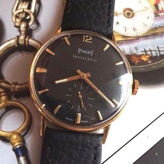 huge selection of 82fa2 4c639 希少【PIAGET - ピアジェ ×TIFFANY - ティファニー】 18Kアンティーク腕時計 2 - アンティーク腕時計のfreemen  ~パテックフィリップやランゲ&ゾーネ等の腕時計通販販売