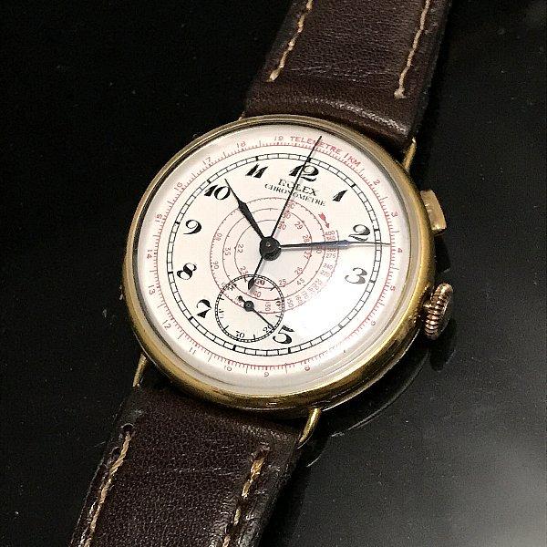 cheap for discount 9b5ef 86193 【ROLEX - ロレックス】 アンティーククロノグラフ時計 - アンティーク腕時計のfreemen  ~パテックフィリップやランゲ&ゾーネ等の腕時計通販販売