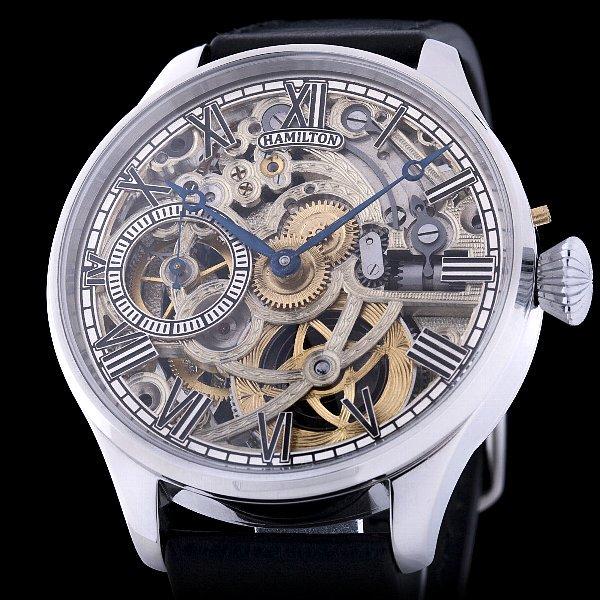 sports shoes 827cc f4cd1 【 HAMILTON - ハミルトン】 アンティークアールデコ バックスケルトン メンズ腕時計 - アンティーク腕時計のfreemen  ~パテックフィリップやランゲ&ゾーネ等の腕時計通販販売