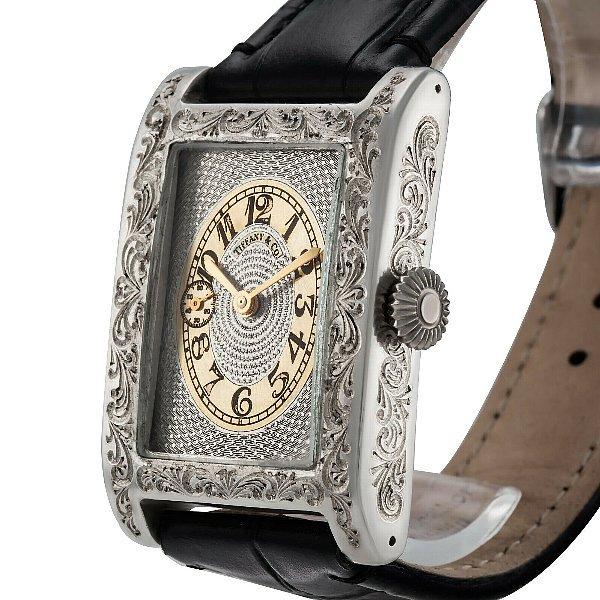 innovative design 695dd bbc7b 【TIFFANY&Co-ティファニー】 アンティーク スクエア メンズ腕時計 - アンティーク腕時計のfreemen  ~パテックフィリップやランゲ&ゾーネ等の腕時計通販販売