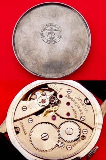 719fbd508e 【Girard Perregaux - ジラールペルゴ】 ヴィンテージフリーメイソン柄メンズ腕時計(4). ジラールペルゴのアンティークメンズ ウォッチになります。
