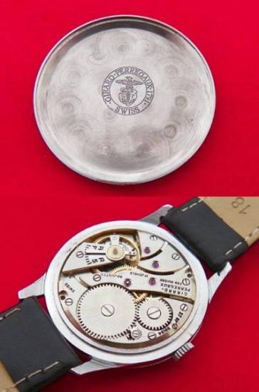 d46a223fcc 【Girard Perregaux - ジラールペルゴ】 ヴィンテージフリーメイソン柄メンズ腕時計(3). ジラールペルゴのアンティークメンズ ウォッチになります。