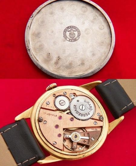 835fbfa34b 【Girard Perregaux - ジラールペルゴ】 ヴィンテージフリーメイソン柄メンズ腕時計(2). ジラールペルゴのヴィンテージメンズ ウォッチになります。
