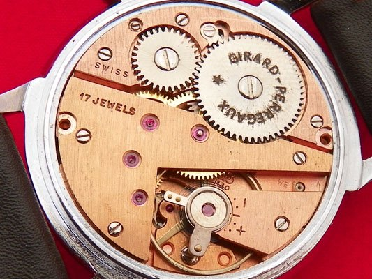 00f5cd6596 【Girard Perregaux - ジラールペルゴ】 ヴィンテージフリーメイソン柄メンズ腕時計. ジラールペルゴのヴィンテージメンズ ウォッチになります。
