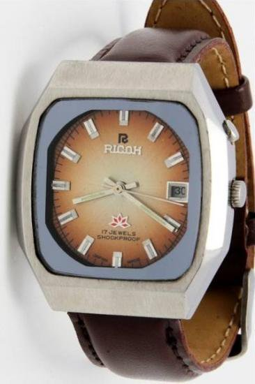 lowest price ecda4 e31ff 【RICOH - リコー】レトロヴィンテージ腕時計 - アンティーク腕時計のfreemen ~パテックフィリップやランゲ&ゾーネ等の腕時計通販販売