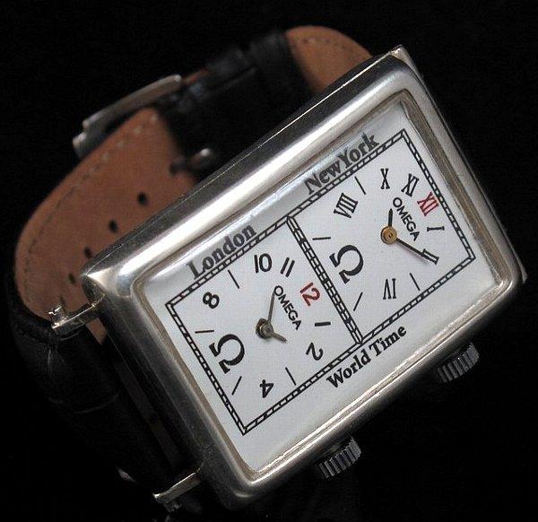 newest 4cefd d372e 【OMEGA - オメガ】 アンティークワールドタイムスクエアメンズ腕時計 - アンティーク腕時計のfreemen  ~パテックフィリップやランゲ&ゾーネ等の腕時計通販販売