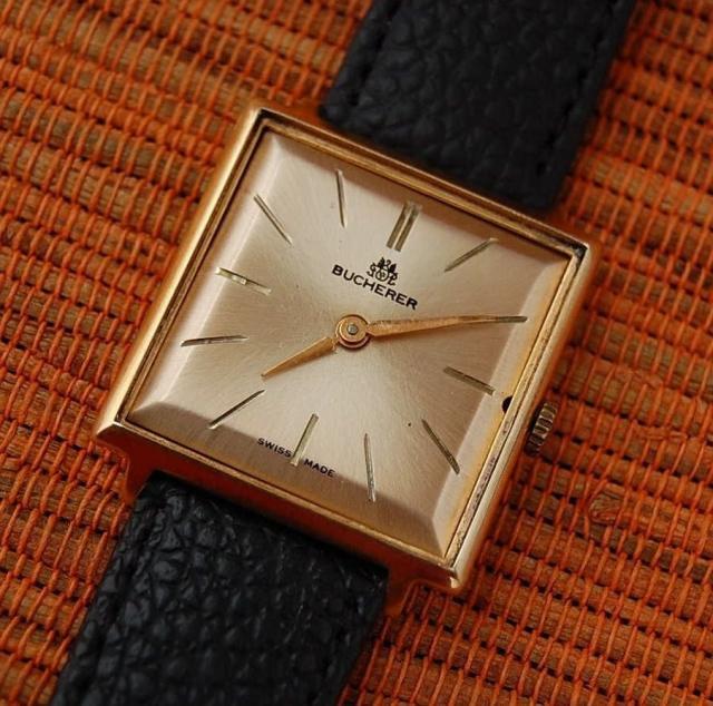 brand new 82d69 35d7b 【BUCHERER - ブッフェラー】 アンティークスクエアメンズ腕時計 - アンティーク腕時計のfreemen  ~パテックフィリップやランゲ&ゾーネ等の腕時計通販販売