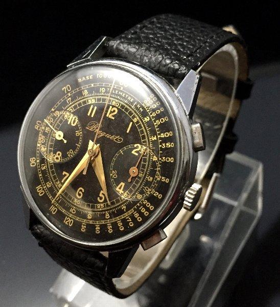 big sale c3f3b e31b4 OH済 【BREGUET - ブレゲ】 アンティーククロノグラフ メンズ腕時計 2 - アンティーク腕時計のfreemen  ~パテックフィリップやランゲ&ゾーネ等の腕時計通販販売