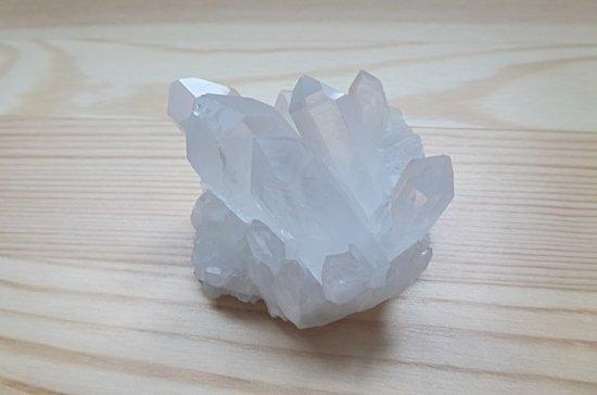 マダガスカル産水晶クラスター