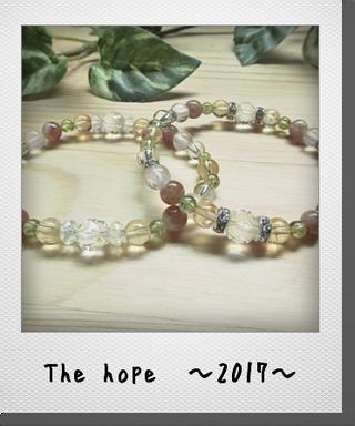 【The hope ~2017~】 2017年の幸せをサポートする