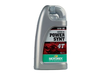 MOTOREX OIL POWER SYNT 4T(10W-50) 1リットル