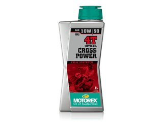 MOTOREX OIL CROSS POWER 4T(10W-50) 1リットル