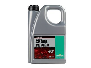 MOTOREX OIL CROSS POWER 4T(10W-60) 4リットル